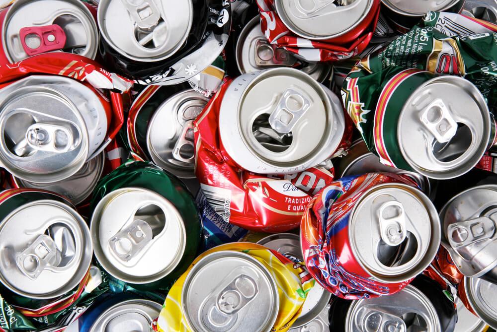 recycle scrap aluminum cans
